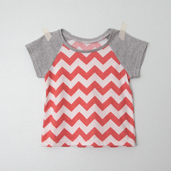 learn how to draft a pattern for a raglan tee in any size, and then how to sew it up!