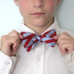 make a bow tie from an old necktie {great teen boy gift!}