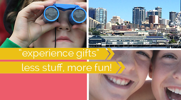 "less stuff more fun: the best ""experience"" gift ideas for kids"