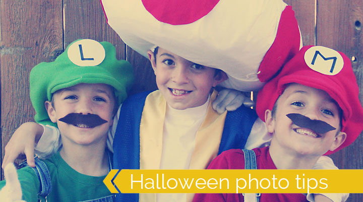how to take great photos of your kids this halloween - photography tips & tricks