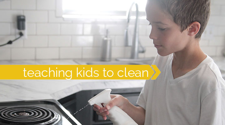 9 tips for teaching your kids how to clean & a $100 Target giveaway!