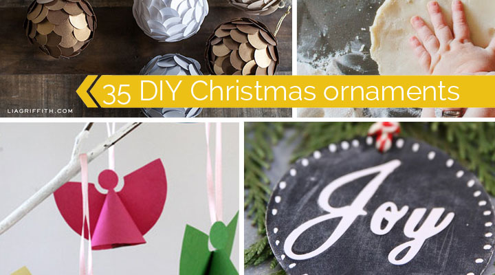 35 beautiful DIY Christmas ornaments to make for your tree