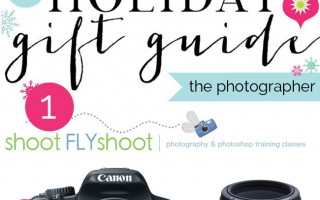 holiday gift guide for the aspiring photographer & a $400 giveaway!