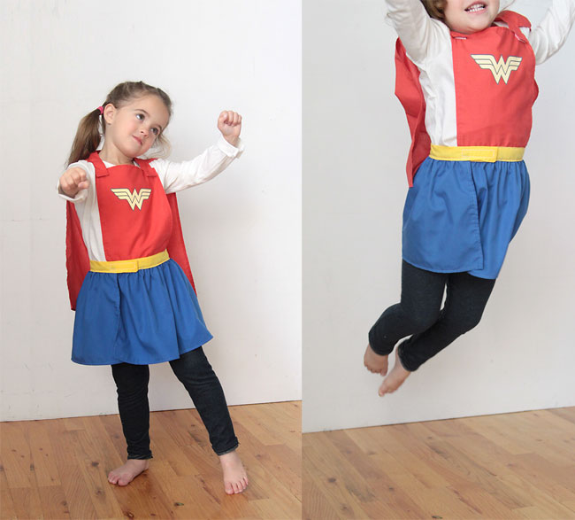 superhero cape & skirt sewing tutorial {no-choke design}