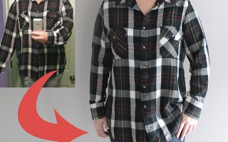how to take in or size down a shirt {the right way}