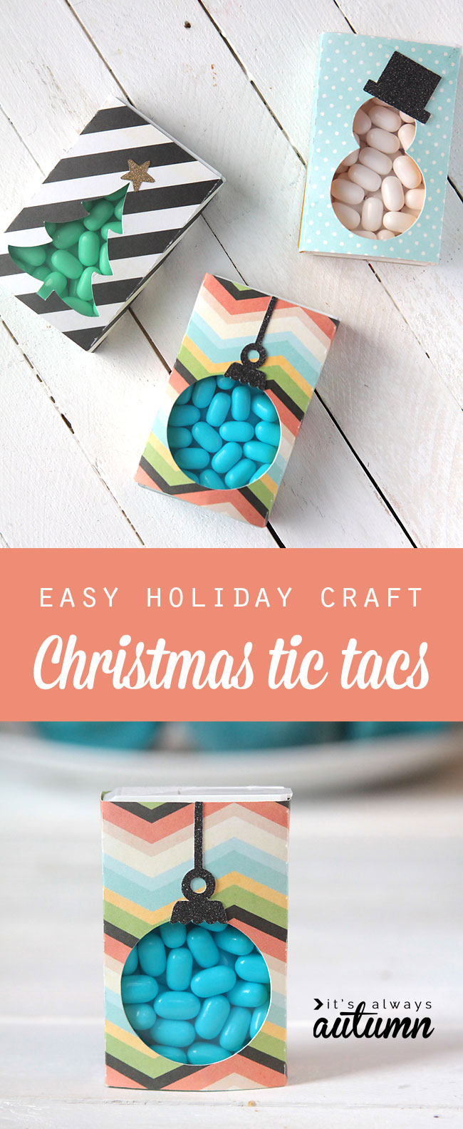 Easy christmas tic tacs cute gift for friends neighbors for Craft gifts for friends