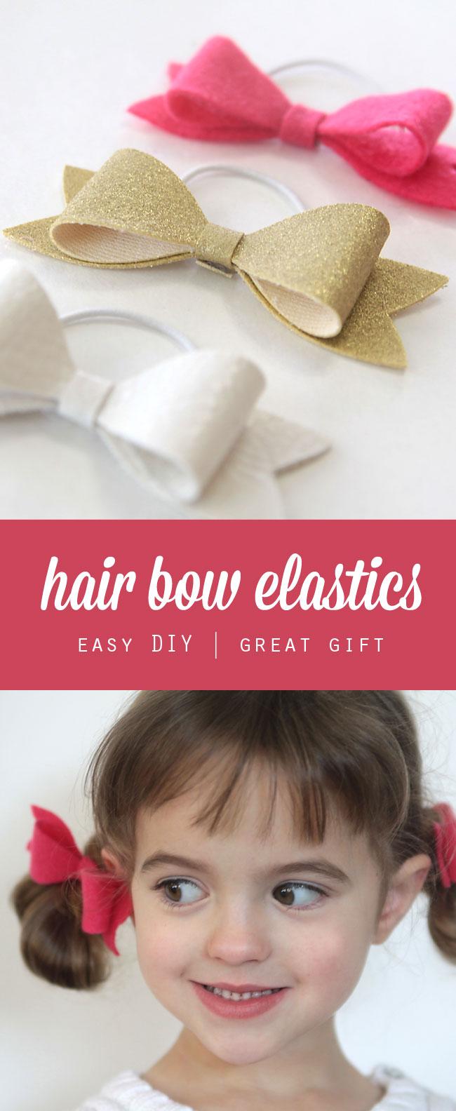 Easy Diy Hair Bow Elastics Great Gift It S Always Autumn