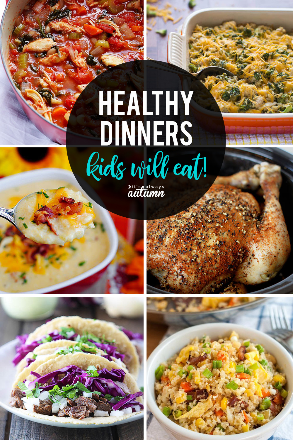 Have picky eaters? Click through for 20 healthy recipes that kids will love. Healthy dinner ideas for families.