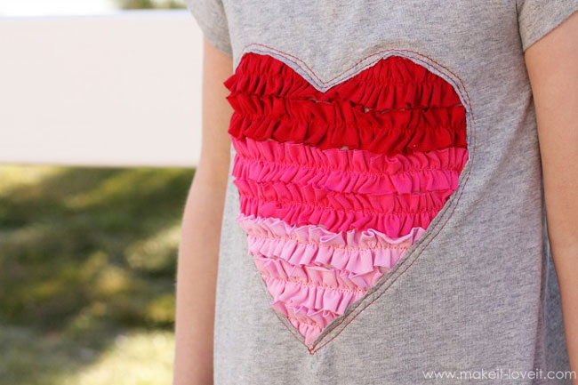 Cute DIY Valentineu0027s Day Shirts