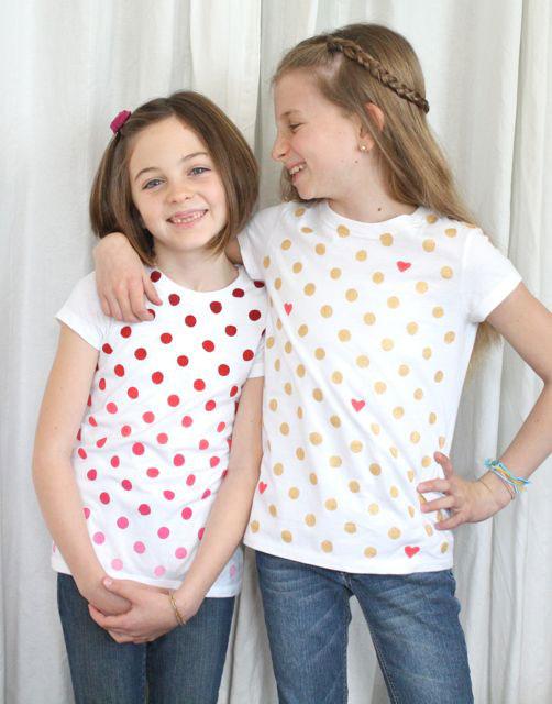 20 fantastic DIY Valentine's day t-shirts - It's Always Autumn