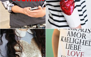 20 fantastic DIY Valentine's day t-shirts