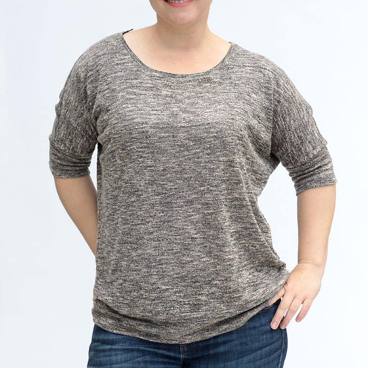 easy-elbow-length-slouchy-tee-sweater-how-to-sew-free-pattern-women
