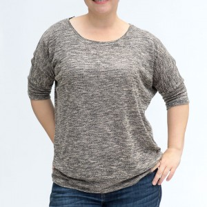 the slouchy batwing top pattern {easy + flattering!}
