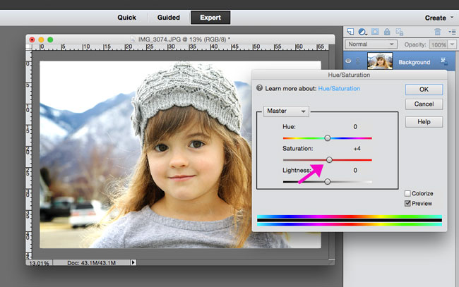 how-to-boost-color-brighten-dull-photo-edit-easy-photoshop-elements-7