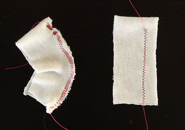 how to sew sweater knits