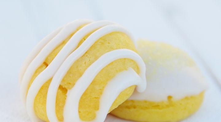 glazed lemon cookies {easy cake mix hack recipe}