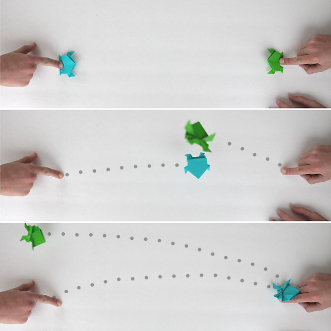 Make An Origami Frog That Really Jumps