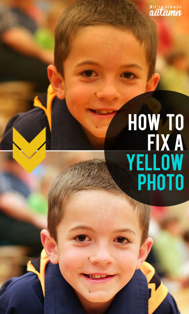 Learn how easy it is to fix a photo with a yellow color cast. Click through for beginning photography tips.