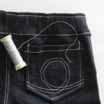 how to sew with stretch denim & a sewing giveaway