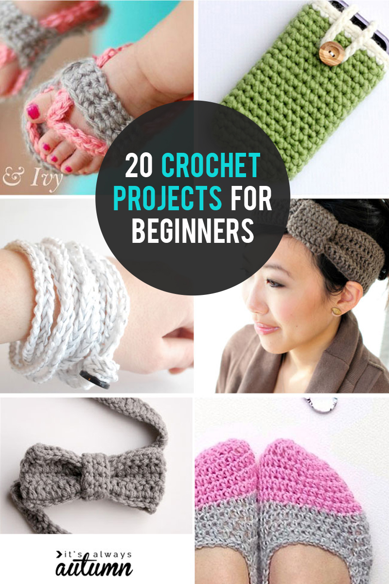 20 Quick Easy And Beautiful Things To Crochet It S Always Autumn