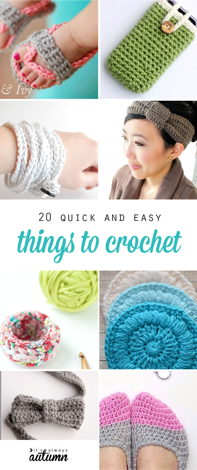 20 quick easy and beautiful things to crochet it u0027s always autumn