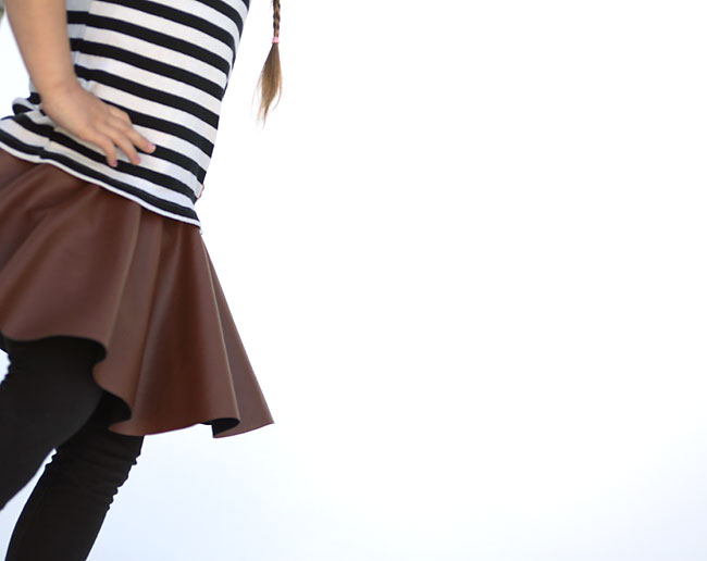 how to sew a circle skirt in 20 minutes or less - It's ...