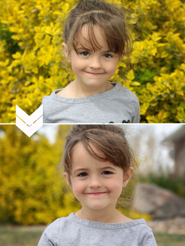 same camera, same settings, but one picture is way better than the other! This photography post shows how much you can improve your photos by simply moving your subject away from the background. I've got to try this!
