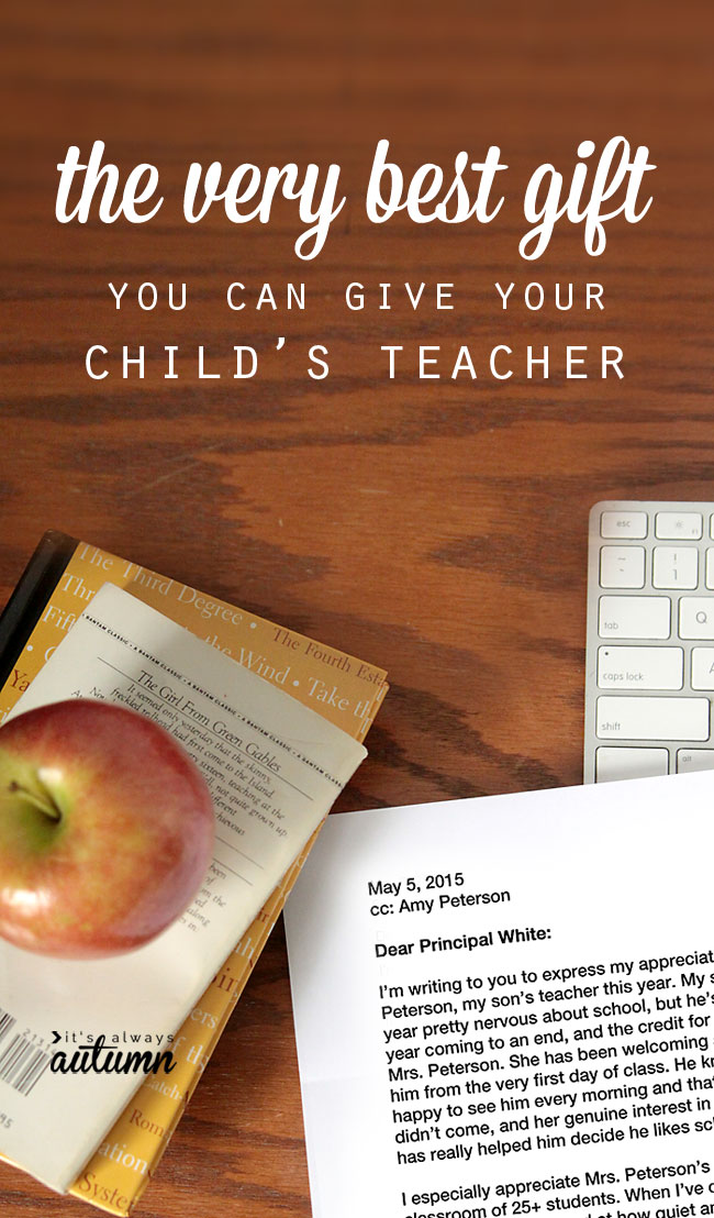 Very Best Cheap Free And Easy Teacher S Appreciation Gift