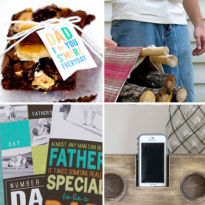 The coolest handmade Father's Day gift ideas. 20 DIY gifts for Dad.