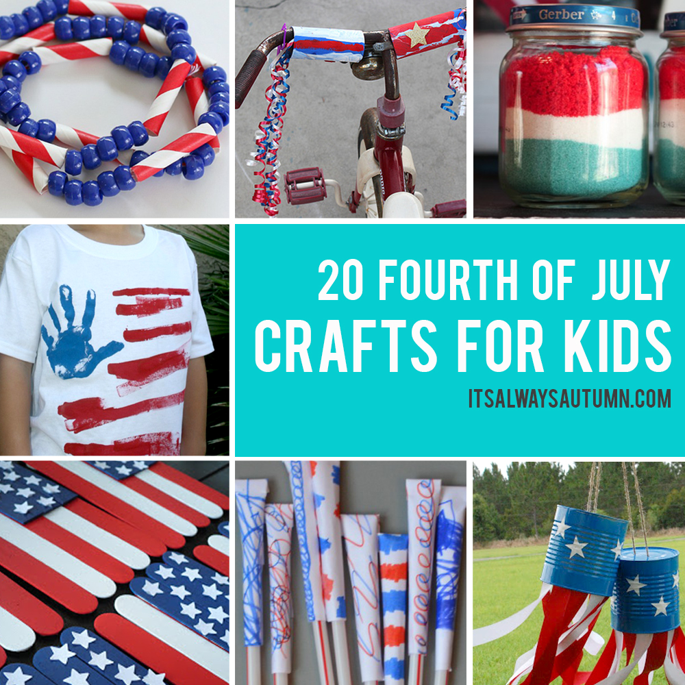 31b95344a64 fun and easy Fourth of July crafts for kids - It s Always Autumn