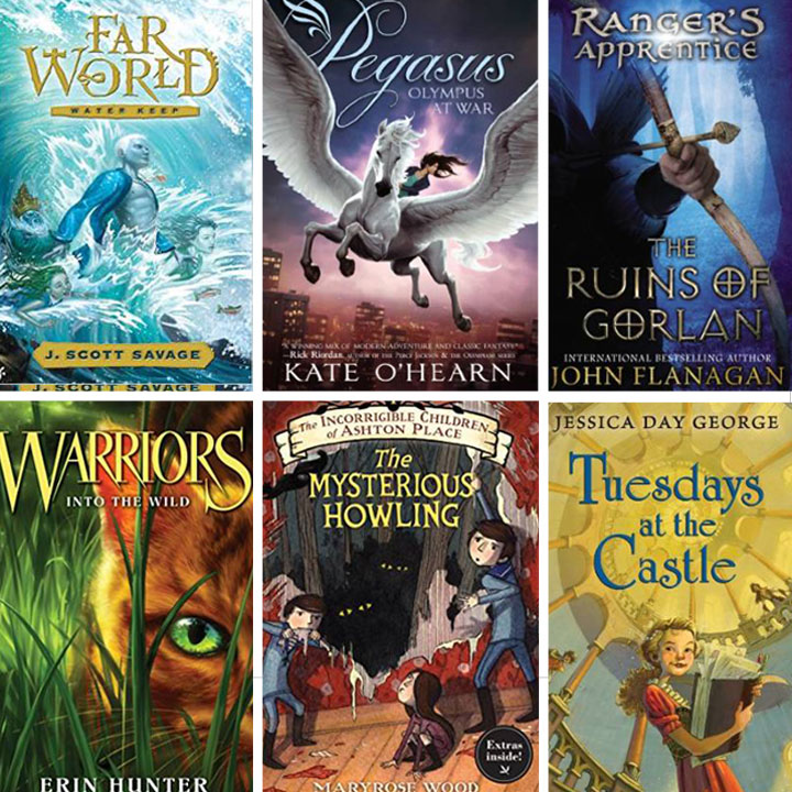 Kids Fantasy Book Covers