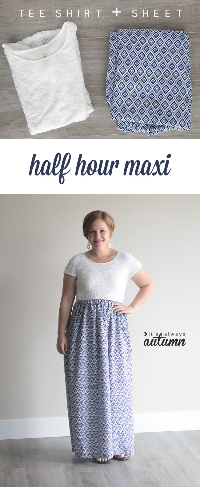 easy-maxi-dress-women-tee-sheet-how-to-sew-tshirt-gathered-skirt-5
