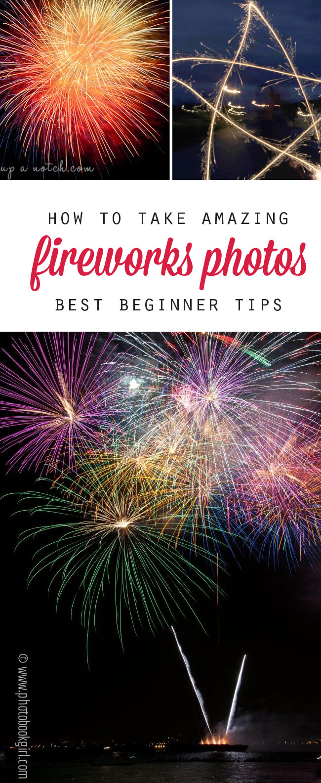 want better fireworks photos this year? find the best tips for taking photos with your phone, point and shoot, or dSLR camera.