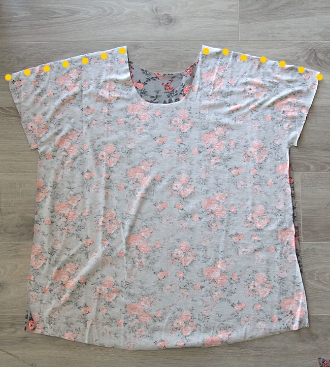 The Breezy Tee Free Womens Sewing Pattern In Size L It