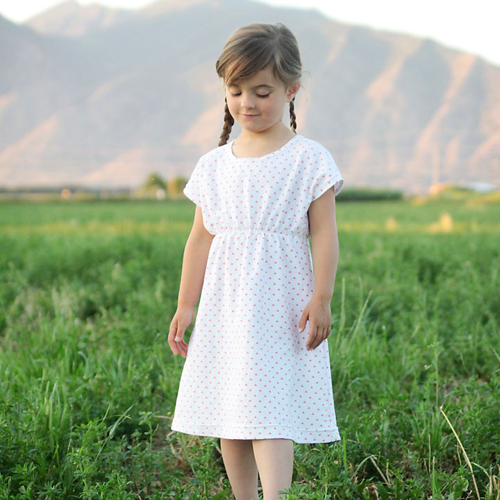 The Play All Day Dress Free Girls Dress Pattern In 6