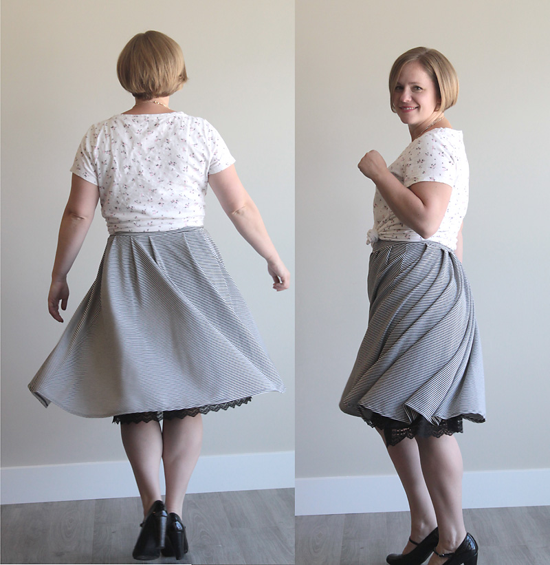 How To Make A Pleated Midi Skirt Pattern In Any Size Its Always