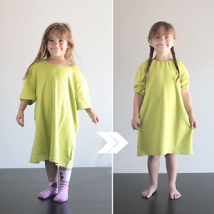easy DIY princess nightgown {upcycled from a tee}