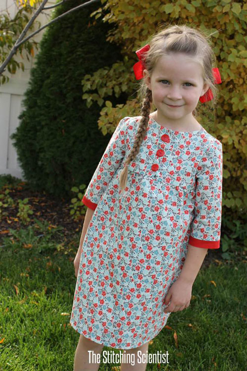 free girls' dress patterns & charity sewing - It's Always Autumn