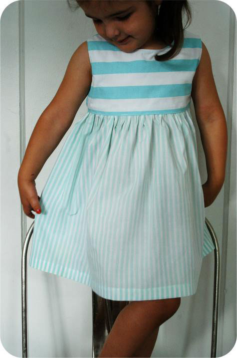 free girls' dress patterns & charity sewing - It's Always ...