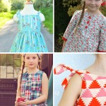 free girls' dress patterns & charity sewing