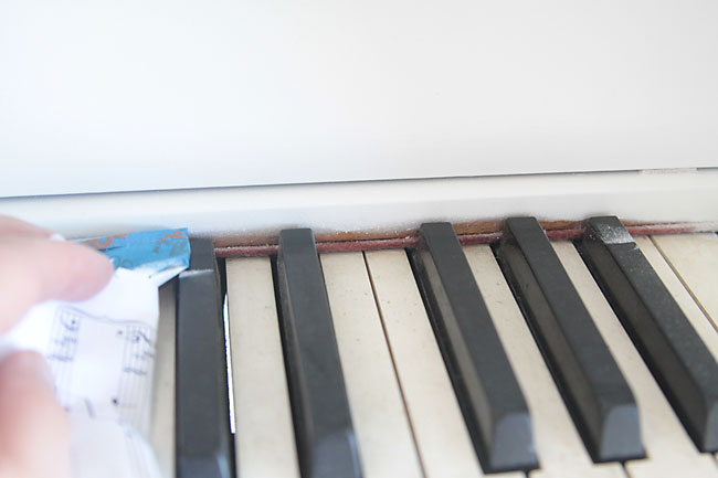 how to paint your piano the easy way - It\'s Always Autumn