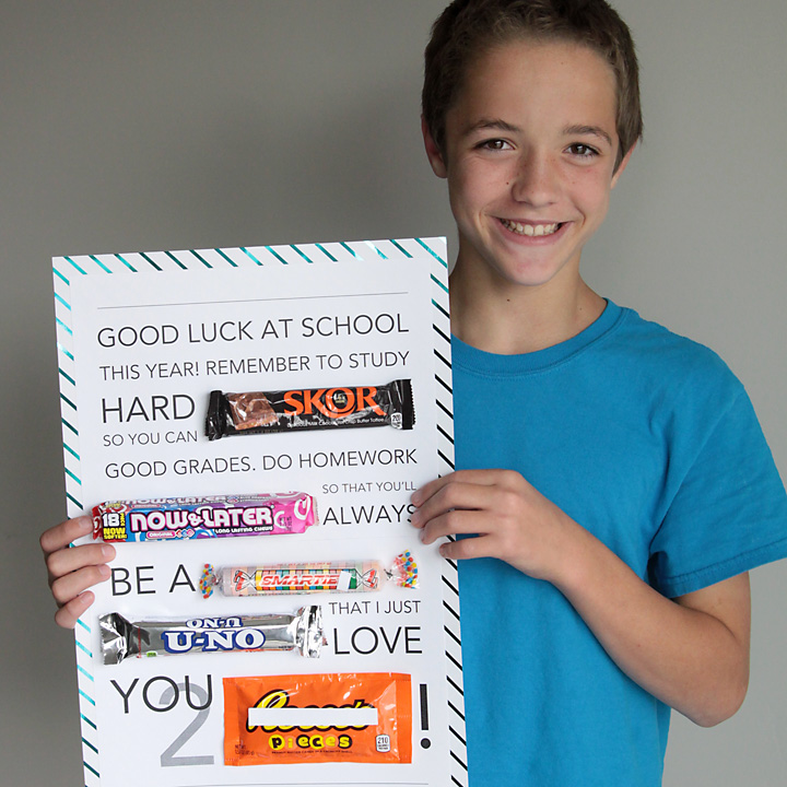back to school candy gram {make the first day special!}