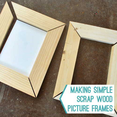 how to build stackable wooden frames