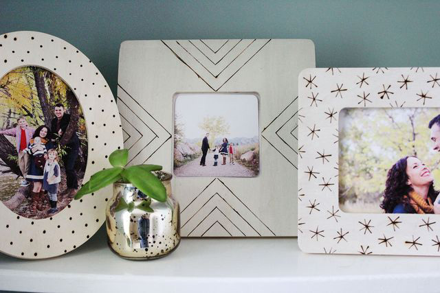 20 best diy picture frame tutorials its always autumn diy photo frames displays great ideas solutioingenieria Images