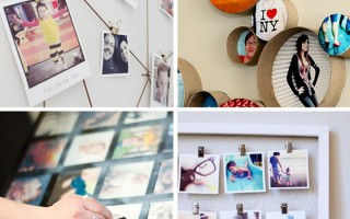 20 best DIY photo display ideas - these are really cool! I love #7!