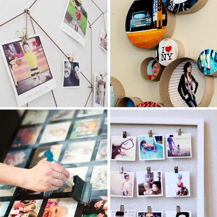 20 best DIY photo display ideas