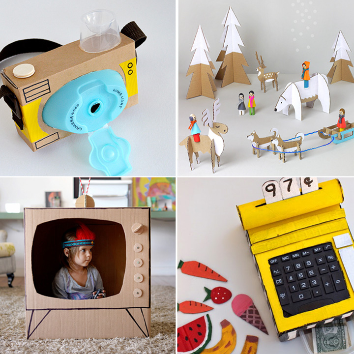 20 coolest toys you can make from cardboard it 39 s always