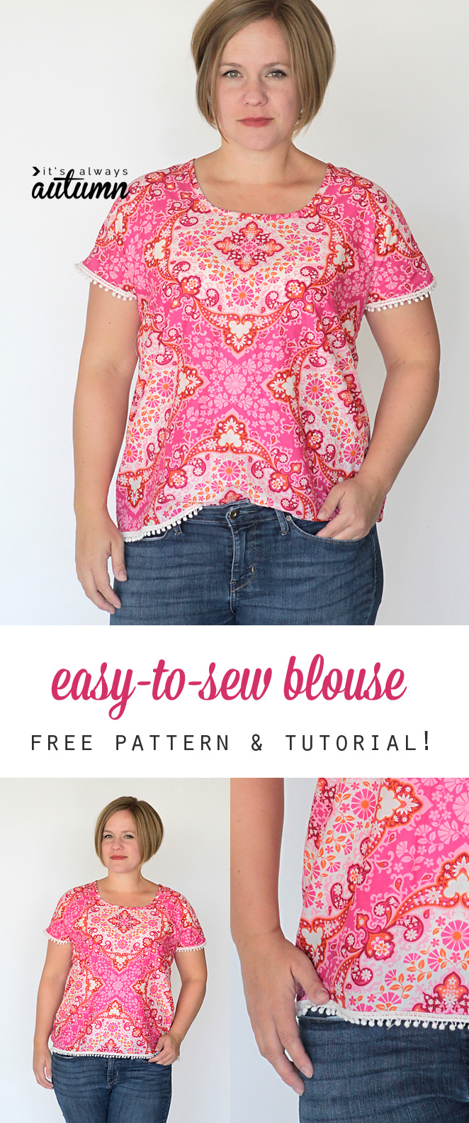Sewing Pattern For Sleeveless Blouse 9
