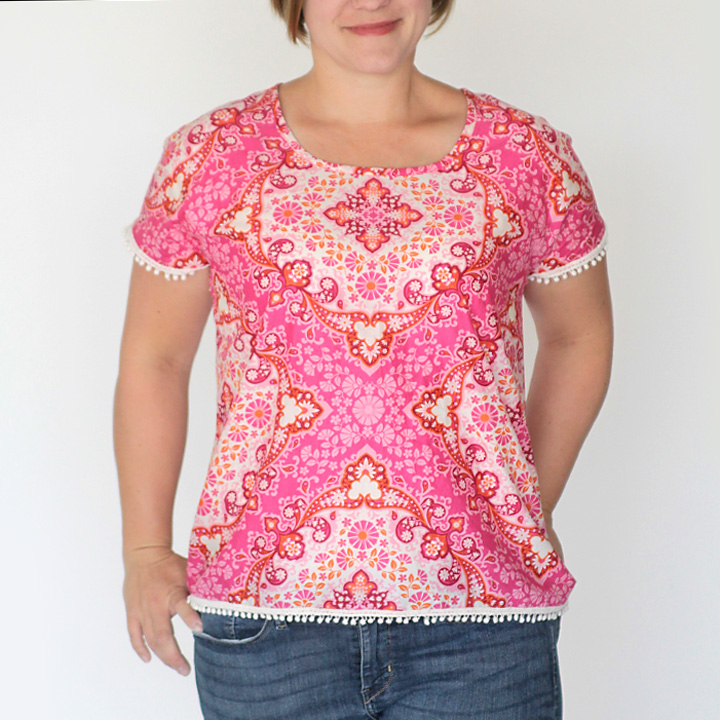 easy-to-sew blouse (a.k.a the breezy tee in a woven!) - It\'s Always ...