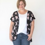 the breezy tee kimono {easy sewing tutorial}